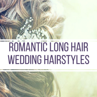 Romantic Long Hair Wedding Hairstyles - Inspiration - Makeup by Lauren