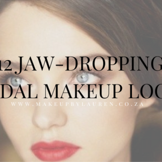 12 jaw dropping bridal makeup looks to inspire on the Makeup by Lauren blog