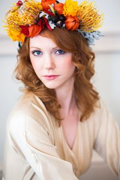 Flower Crowns on Makeup by Lauren Blog