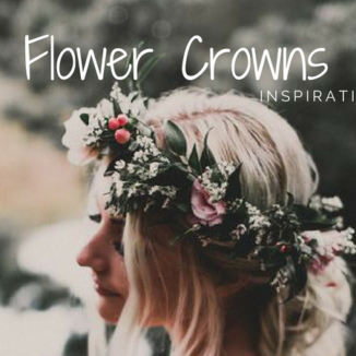 Flower Crown Inspiration on the Makeup by Lauren Blog