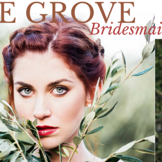 Makeup by Lauren - Olive grove bridesmaid elegance - Astrid Bradley Photography