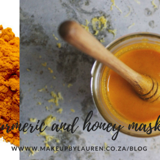Makeup by Lauren BLOG - Tumeric and Honey mask