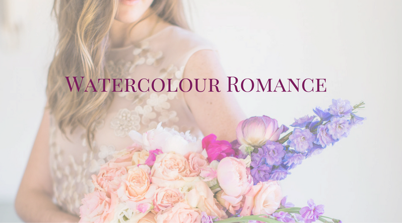 Watercolour Romance - Makeup by Lauren blog